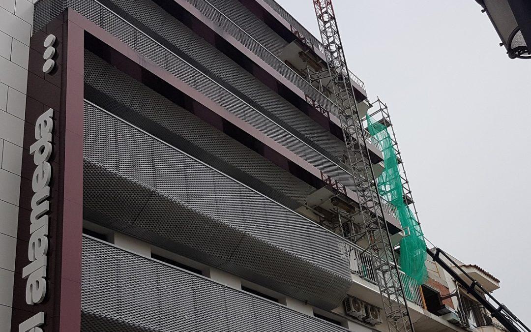 Hotel Alameda – Reforma Sistema de detección Incendios