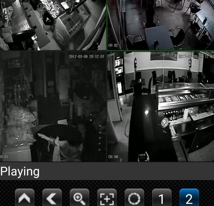 CCTV – Bar Myriam – Benidorm